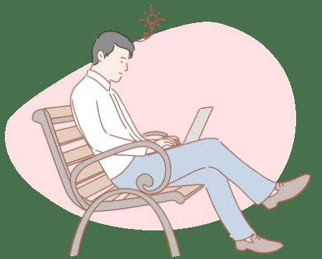Bookmark Illustration
